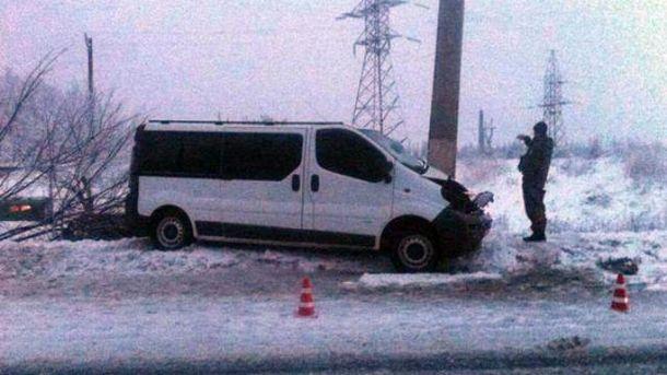 Автобус ехал из Покровска в Харьков