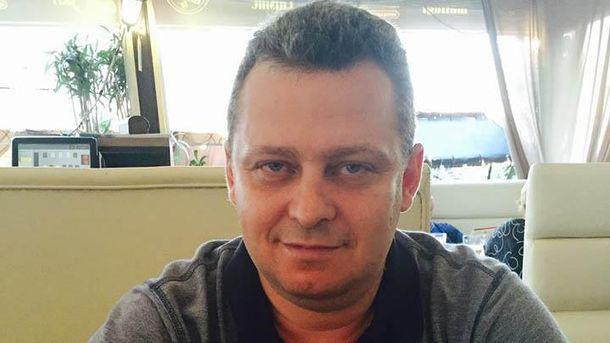 Российский журналист Павел Фельдблюм