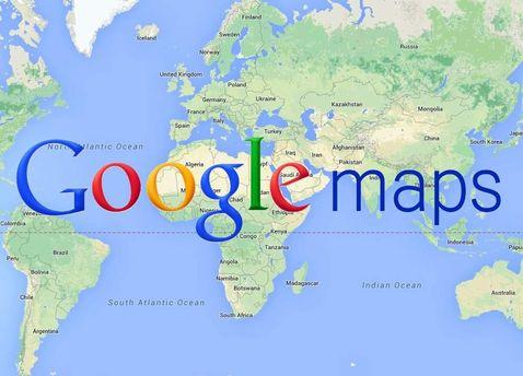 Google Maps иногда приводит неверные географические данные