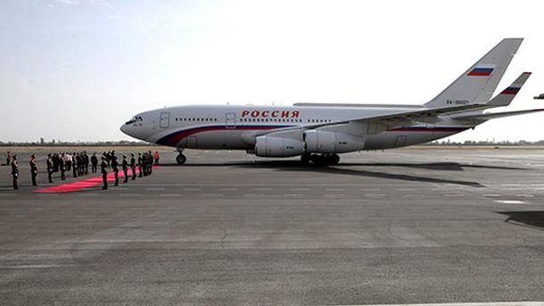 Літак Путіна