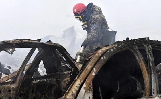 Катастрофа в Киргизстане