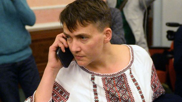 Савченко считает, что надо отдать Крым