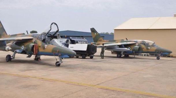Літаки нігерійських ВПС