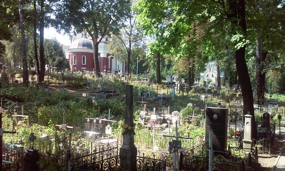 Лукьяновское кладбище
