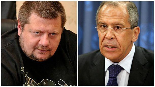 Мосийчук опровергает слова Лаврова
