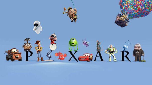 Герои мультфильмов Pixar