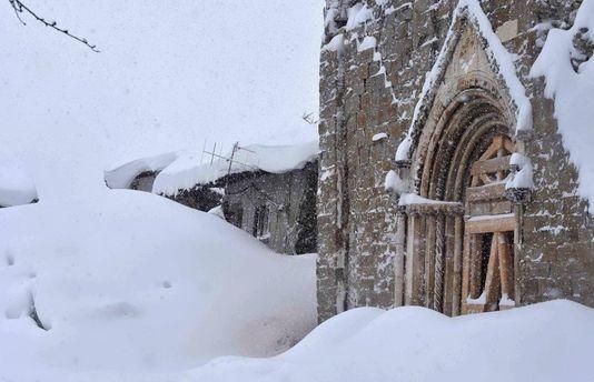 Италия в снежном плену