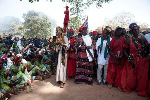 Президент Гамбии Яя Джамме