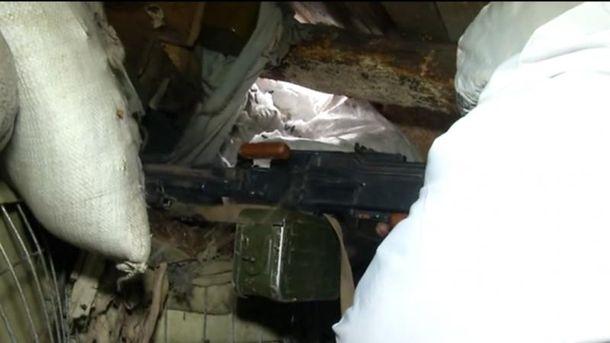 Военные отбили атаку террористов