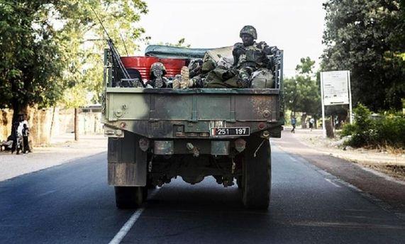 Военные в Гамбии