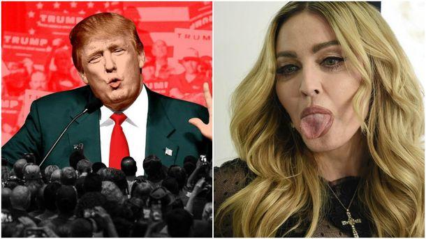 Мадонна облаяла Трампа