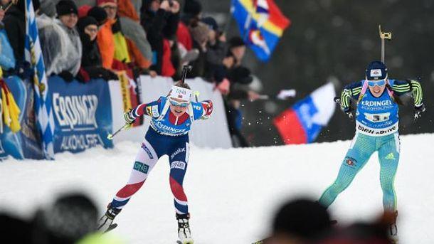 Украинки финишировали четвертыми