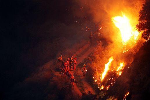 Пожежа в Чилі
