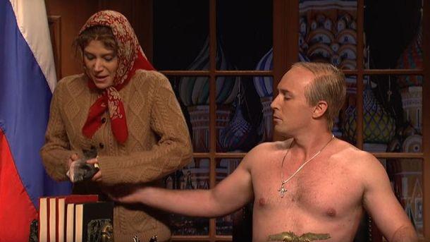 Пародия на Владимира Путина