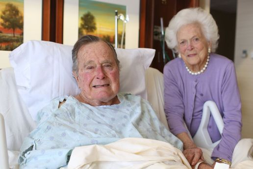 Подружжя Бушів