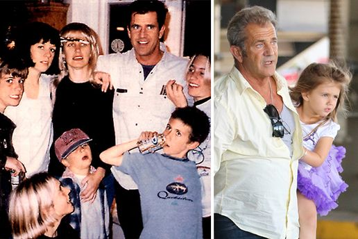 Гібсон та його діти