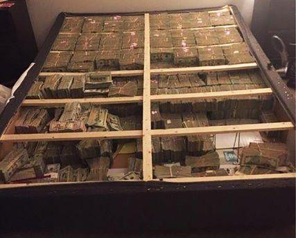 20 мільйонів доларів під матрацом