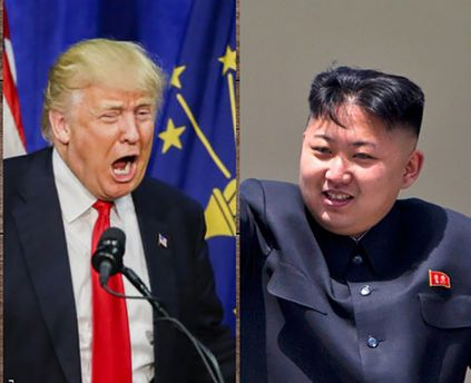Картинки по запросу фото трамп и ким чен ын