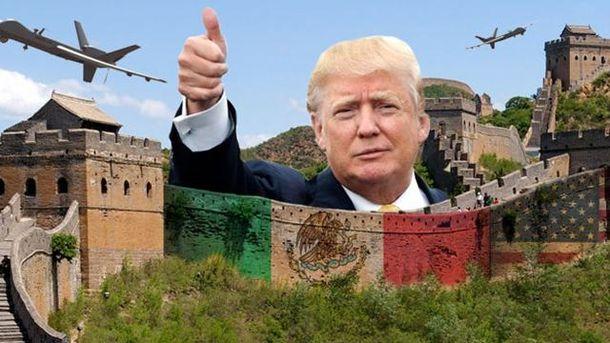 Трамп розповів, коли почне будувати стіну на кордоні з Мексикою