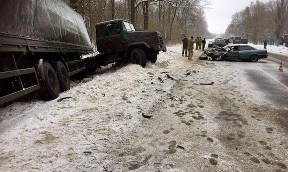Аварія на Донеччині