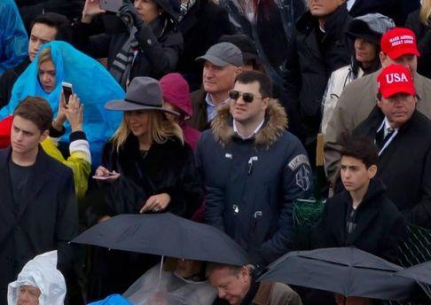 Роман Насиров с семьей на инаугурации Дональда Трампа