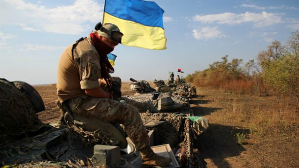Трое украинских воинов были ранены