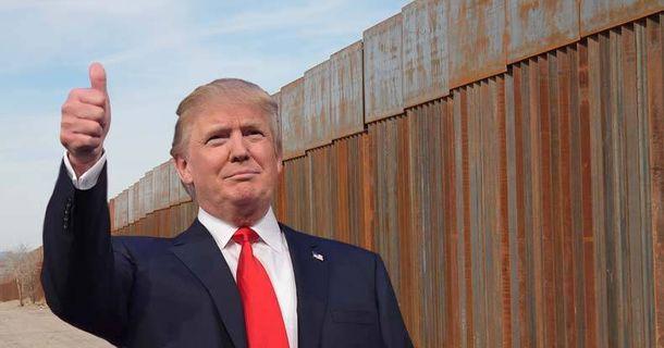 Трамп і стіна