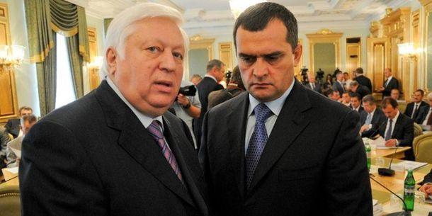 Віктор Пшонка та Віталій Захарченко