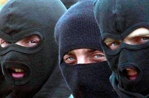 Бандиты в балаклавах