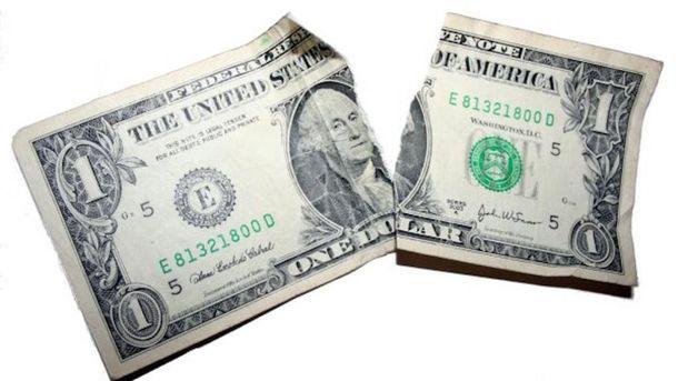 Доллар потерял несколько копеек