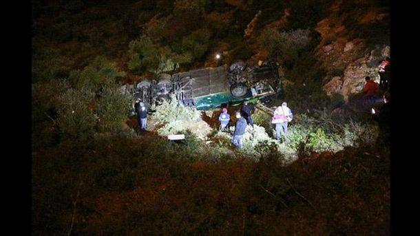 Аварія в Ізраїлі