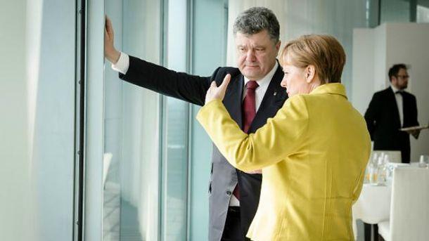 В Берлине Порошенко встретится не только с Меркель