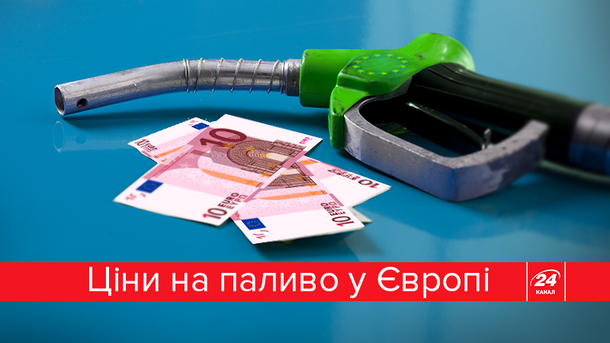 Как отличаются цены на топливо в Европе