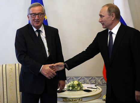 Юнкер и Путин