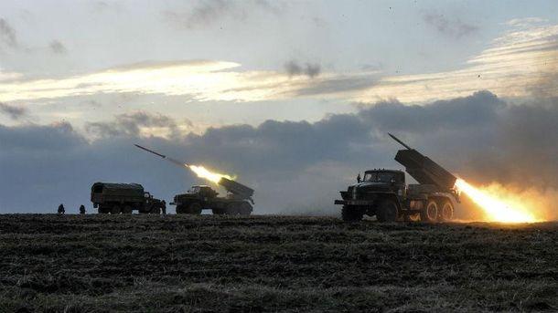 Боевики выпустили 160 снарядов из