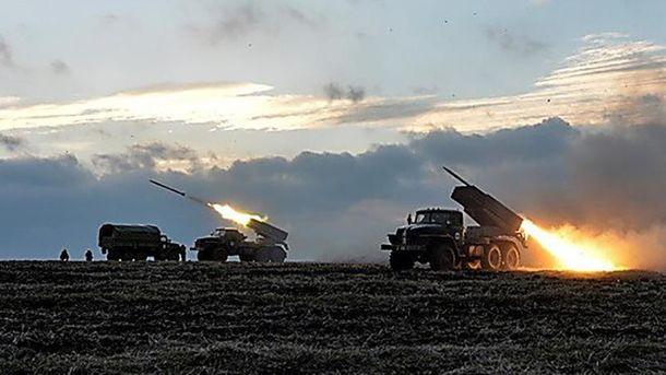 Террористы не прекращают обстреливать украинские позиции