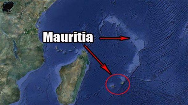 Возле Маврикия нашли следы потерянного континента