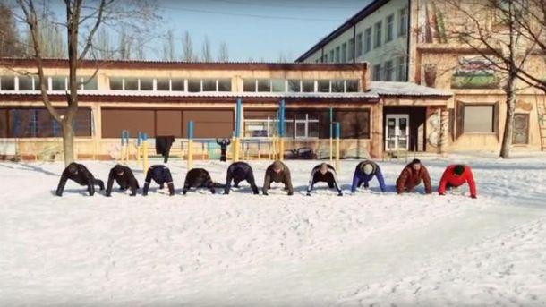 Патріоти з Донбасу приєднались до флешмобу 22 Push-Up Challenge