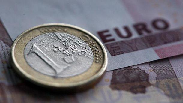 Євро подорожчало на 10 копійок