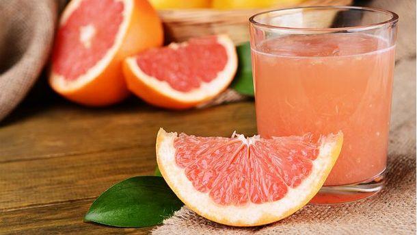 Грейпфрутовий сік