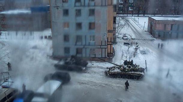 Українські танки в Авдіївці