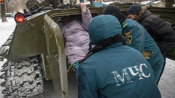 В Донецке – эвакуация