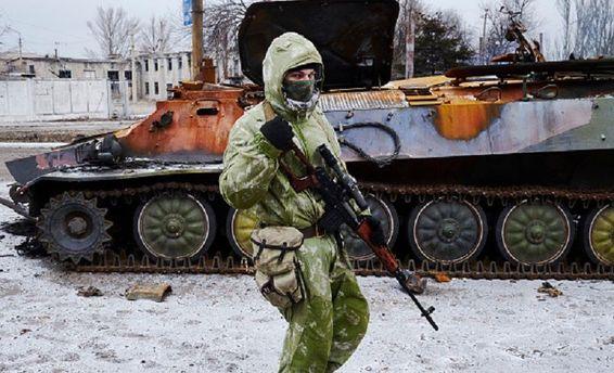 Оккупанты на Донбассе