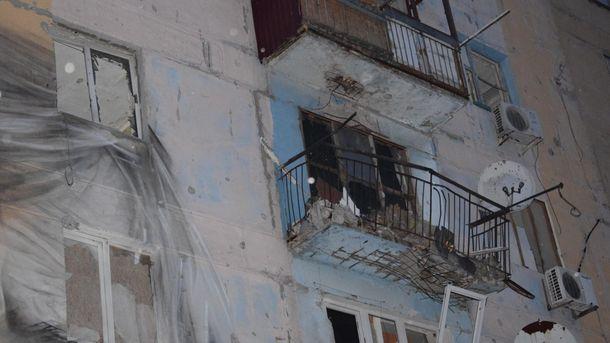 Обстреляны дома в Авдеевке