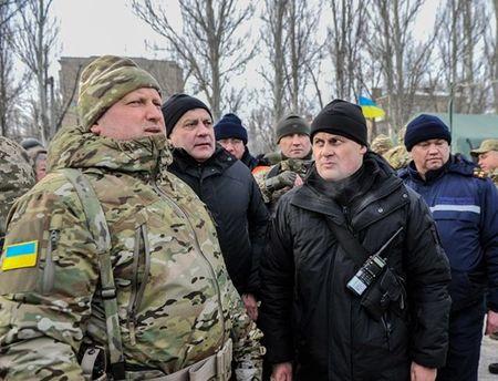 Александр Турчинов посетил Авдеевку