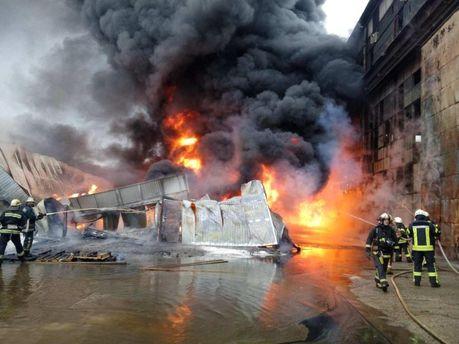 Пожар на Подоле