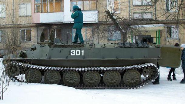 Бойовики ведуть обстріли з житлових районів Донецька