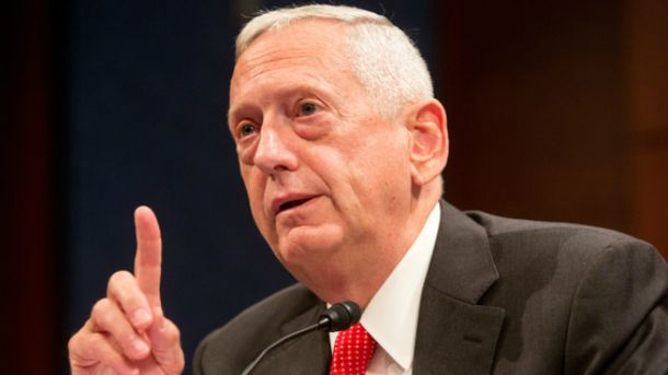 Міністр оборони США Джеймс Меттіс