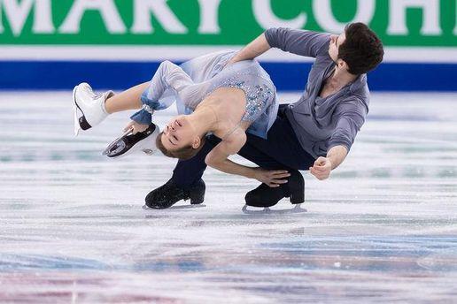 Українські фігуристи Назарова і Нікітін