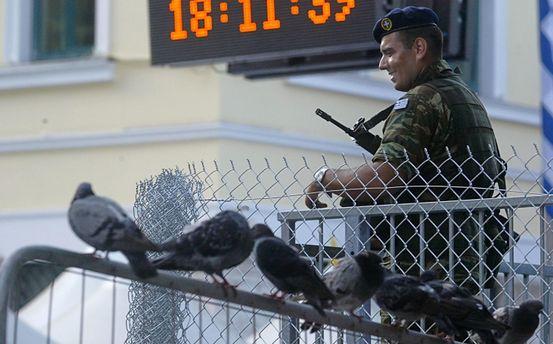 Военный в Греции